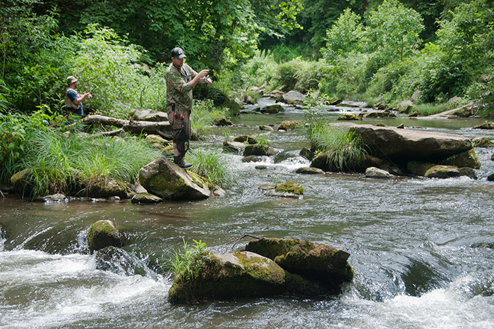 Nantahala Cascades Top 100 Trout River Delayed Harvest