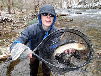 Winter fishing tips for trout bass fishing tuckasegee for Fishing season nc