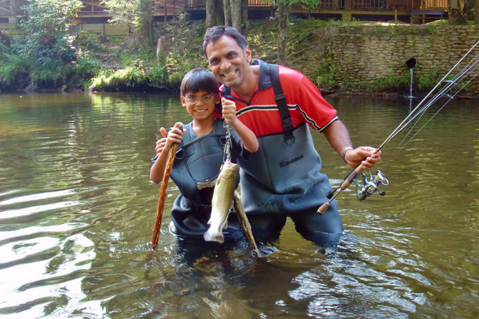 Where to fish in the smokies near bryson city nc fly for Fly fishing chattanooga